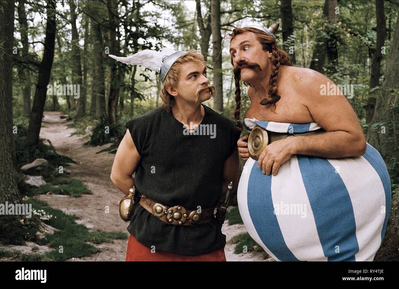 CORNILLAC,DEPARDIEU, ASTERIX AT THE OLYMPIC GAMES, 2008 - Stock Image