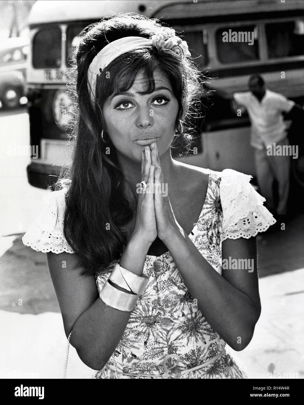 CLAUDIA CARDINALE, UNA ROSA PER TUTTI, 1967 - Stock Image