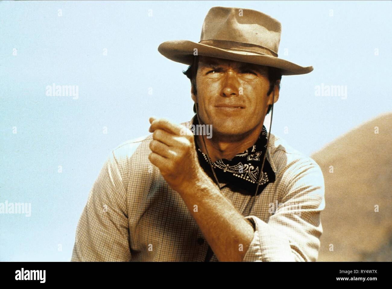 CLINT EASTWOOD, RAWHIDE, 1959 - Stock Image
