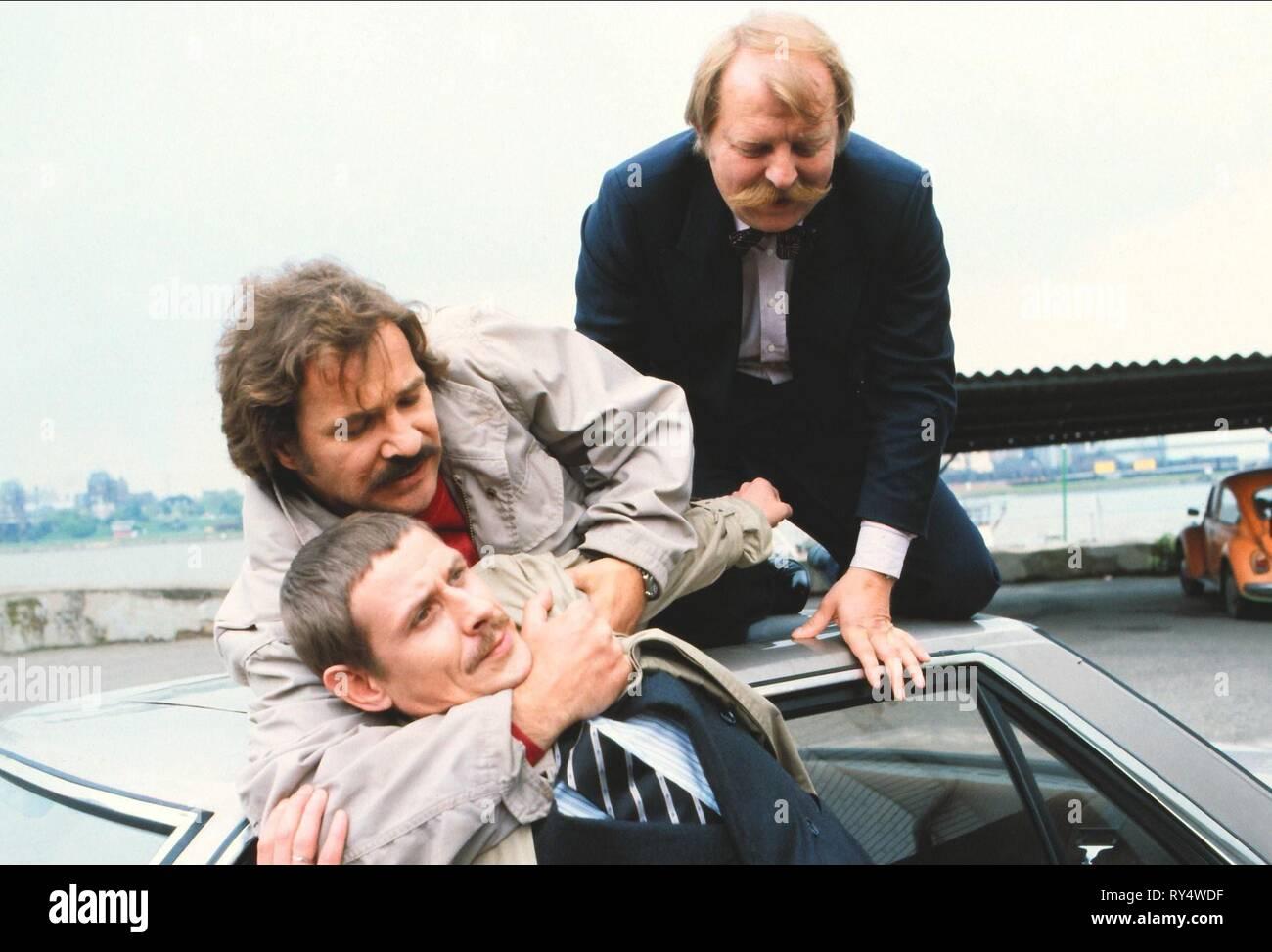 SPRENGER,GEORGE,FEIK, TATORT: DOPPELSPIEL, 1985 - Stock Image