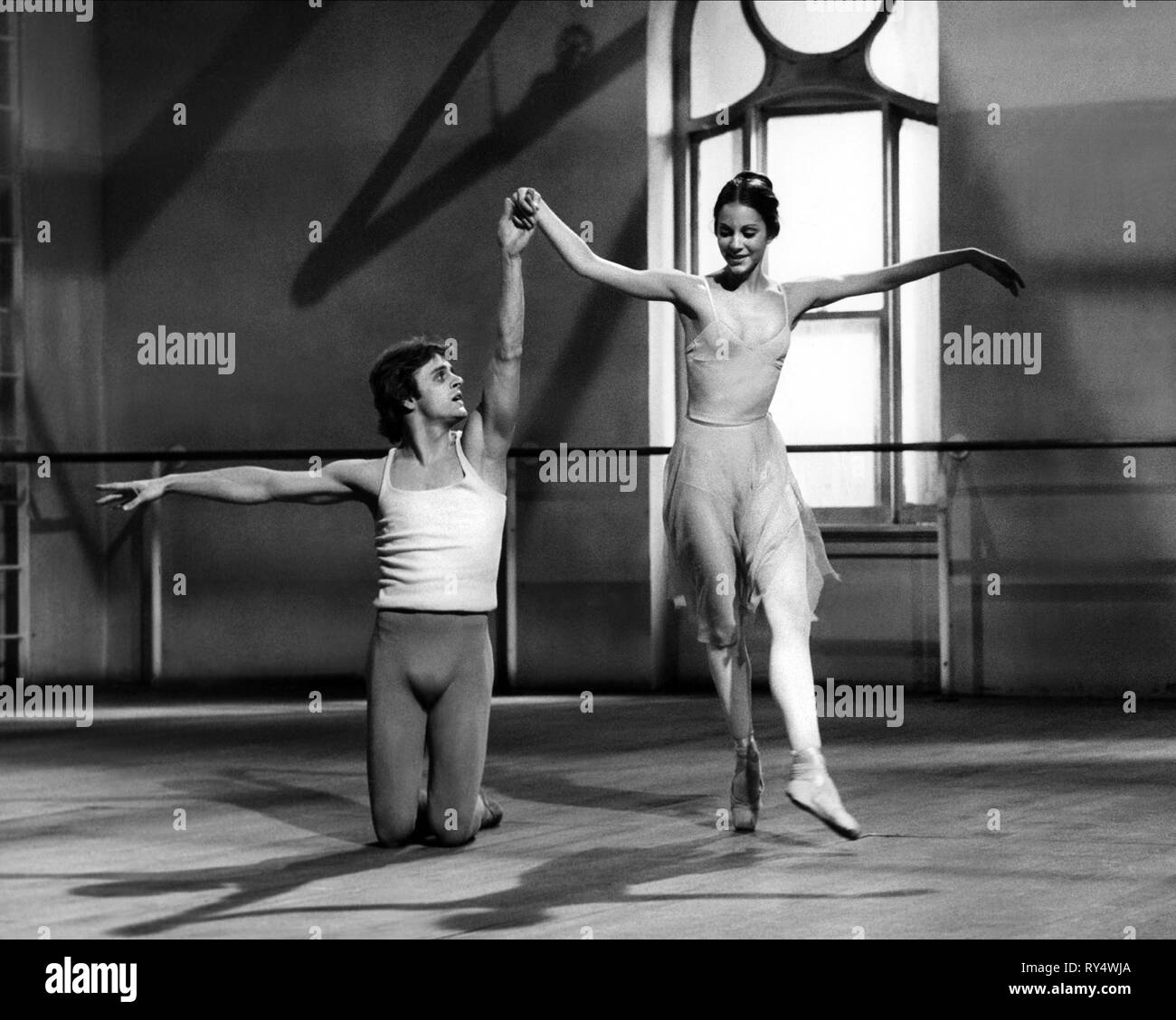 BARYSHNIKOV,BROWNE, THE TURNING POINT, 1977 - Stock Image