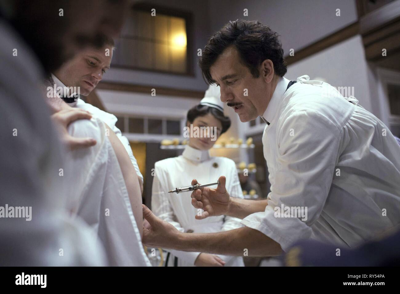 CLIVE OWEN, THE KNICK, 2014 - Stock Image