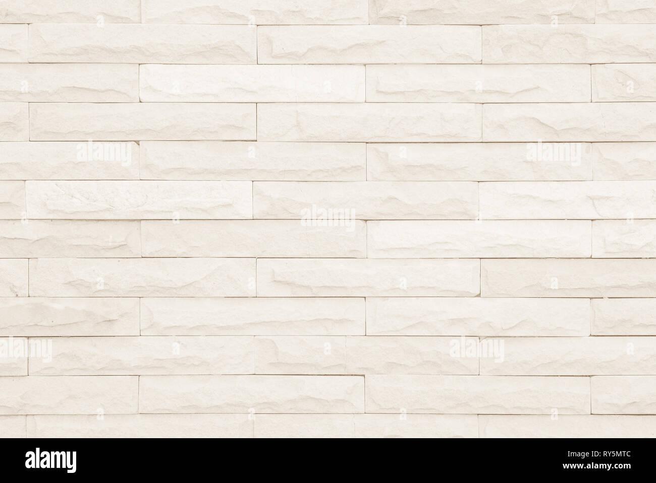 Cream And White Brick Wall Texture Background Brickwork Or