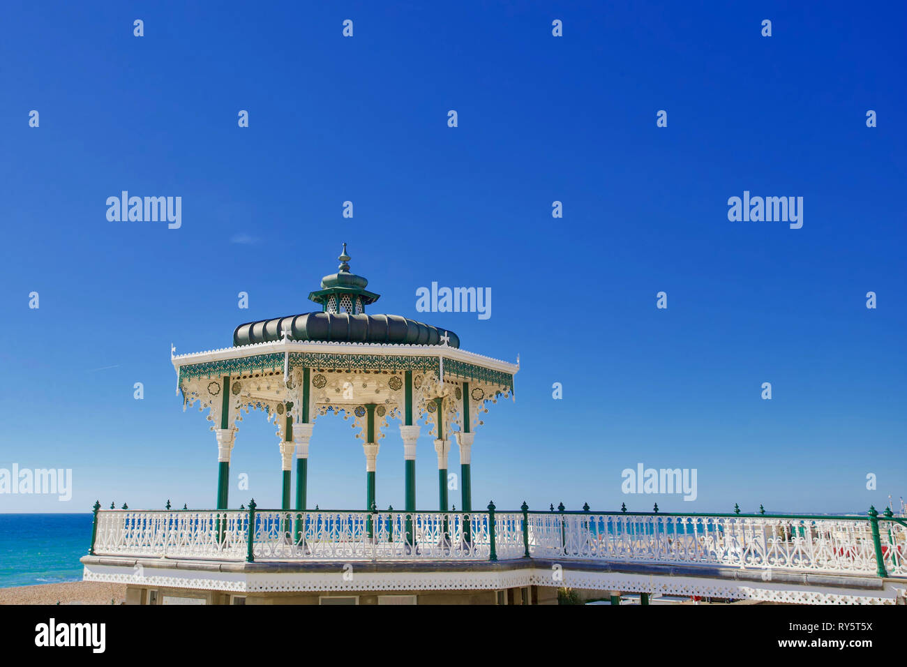 Bandstand, Brighton, East Sussex, England. - Stock Image