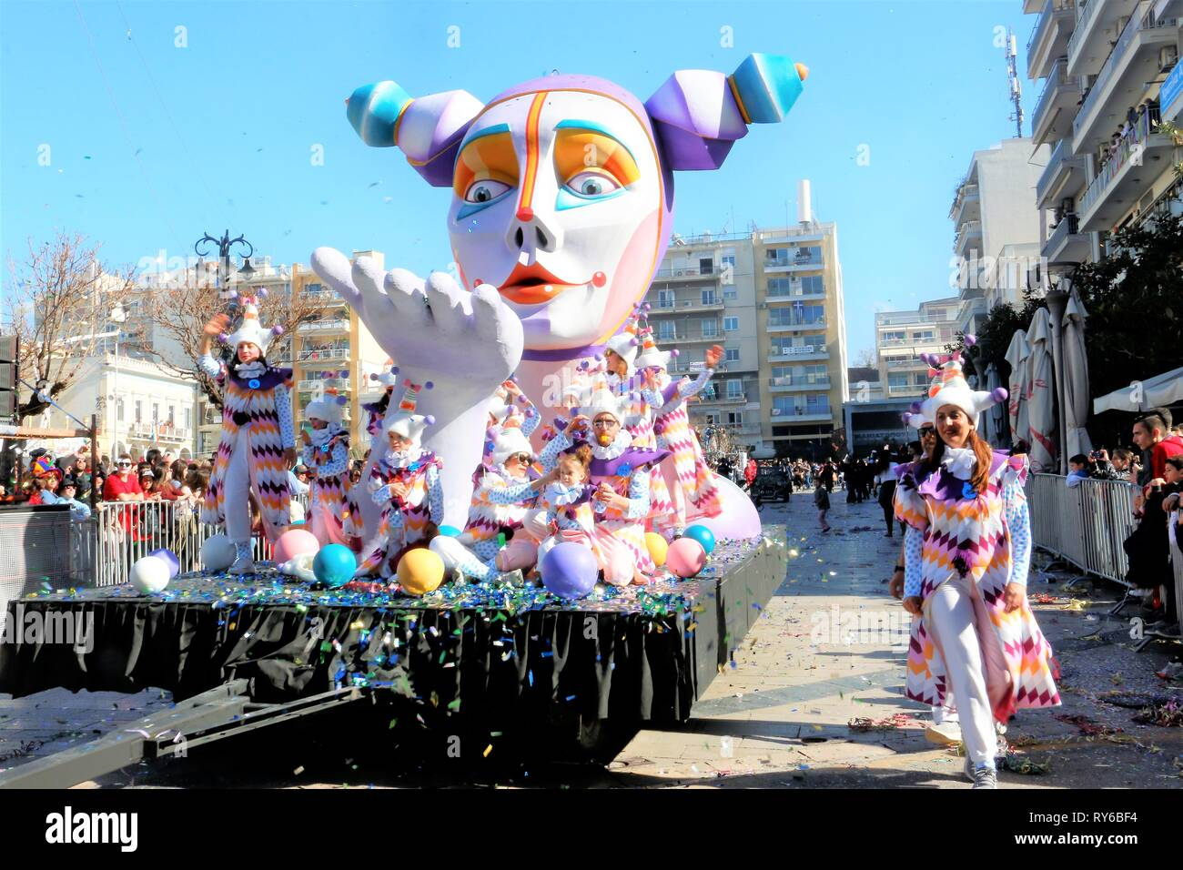Modern clown stock photos modern clown stock images alamy