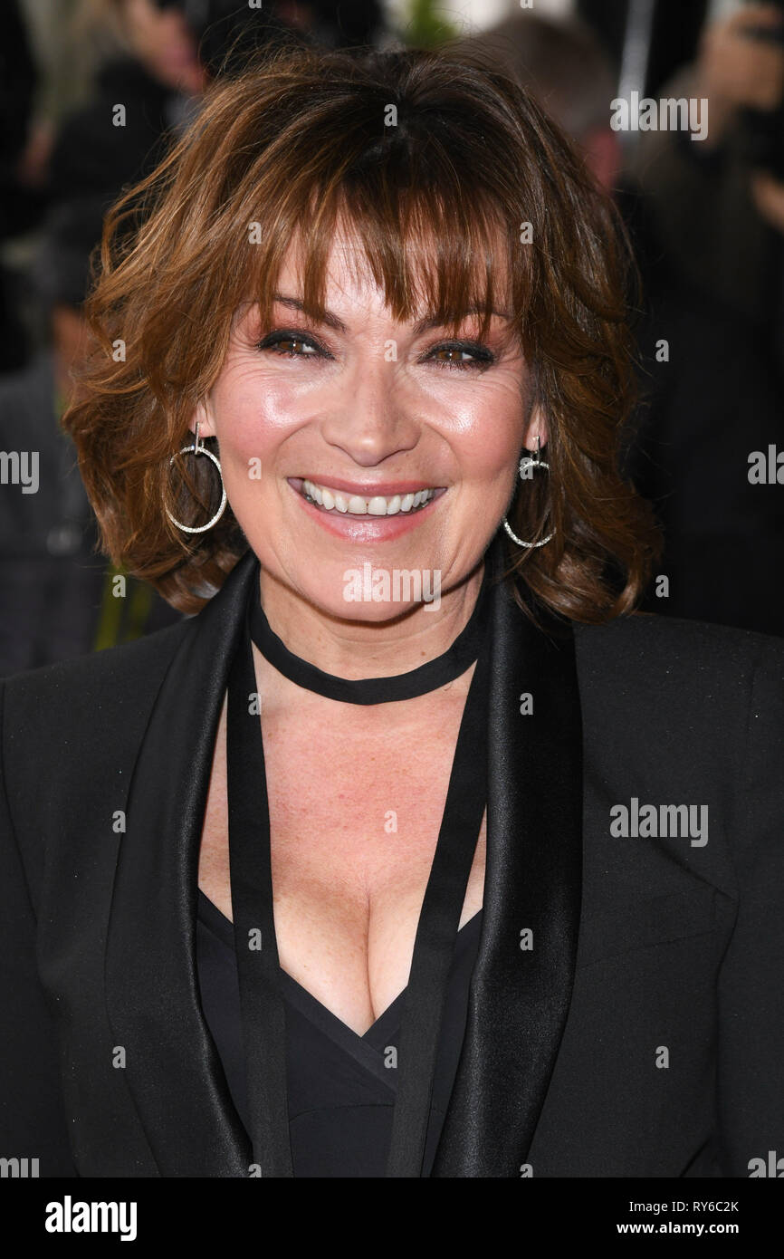 London, UK. 12th Mar, 2019. LONDON, UK. March 12, 2019: Lorraine Kelly arriving for the TRIC Awards 2019 at the Grosvenor House Hotel, London. Picture: Steve Vas/Featureflash Credit: Paul Smith/Alamy Live News Stock Photo