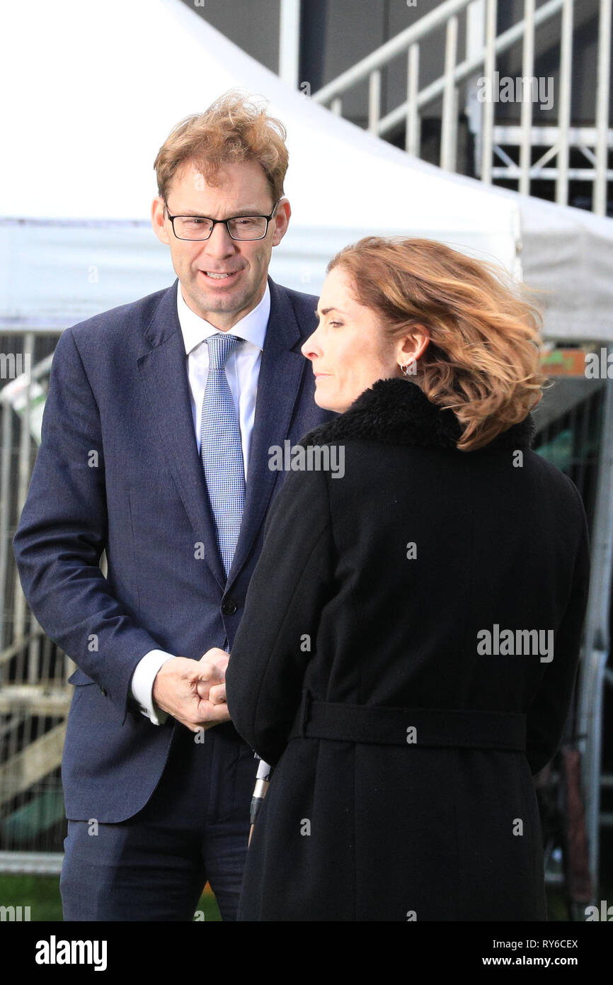 Westminster, London, UK. 12th Mar, 2019. Tobias Ellwood, MP, Conservative. Brexit Supporter. Credit: Imageplotter/Alamy Live News Stock Photo