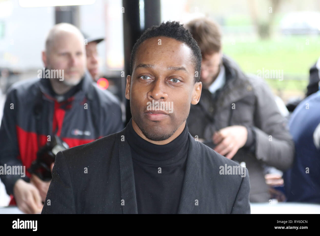 London, UK. 12th Mar, 2019. Lemar, The TRIC Awards 50th Anniversary 2019, The Grosvenor House Hotel, London, UK, 12 March 2019, Photo by Richard Goldschmidt Credit: Rich Gold/Alamy Live News - Stock Image