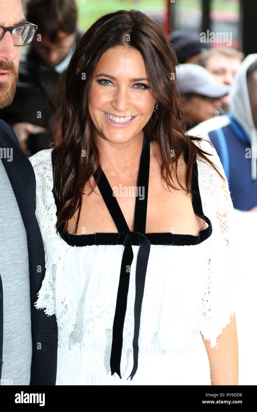 London, UK. 12th Mar, 2019. Lisa Snowdon, The TRIC Awards 50th Anniversary 2019, The Grosvenor House Hotel, London, UK, 12 March 2019, Photo by Richard Goldschmidt Credit: Rich Gold/Alamy Live News - Stock Image