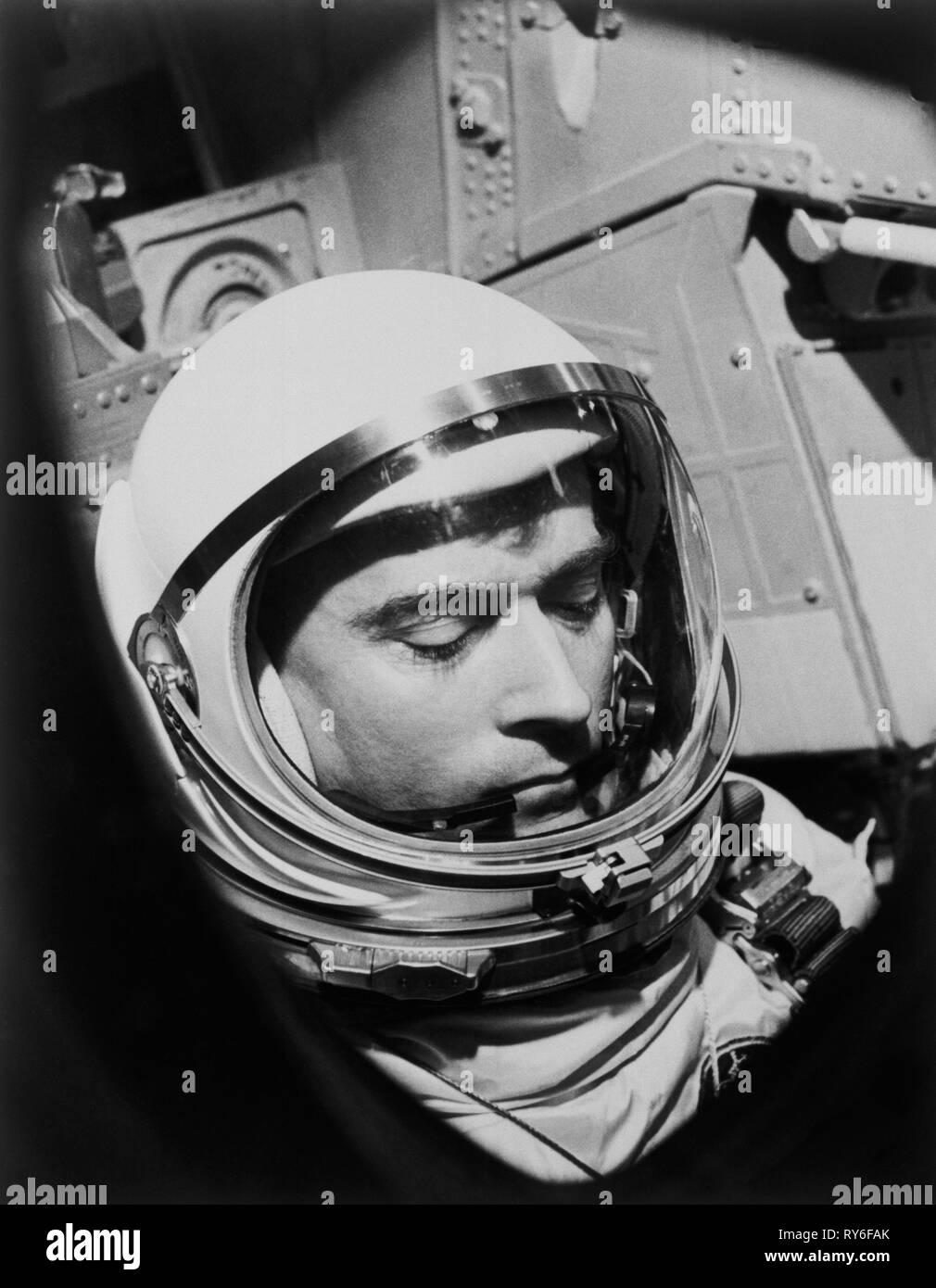 Astronaut John W. Young - Stock Image