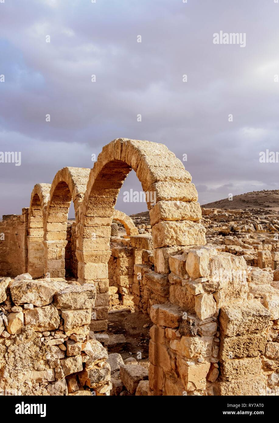 Umm ar-Rasas Ruins, Amman Governorate, Jordan Stock Photo