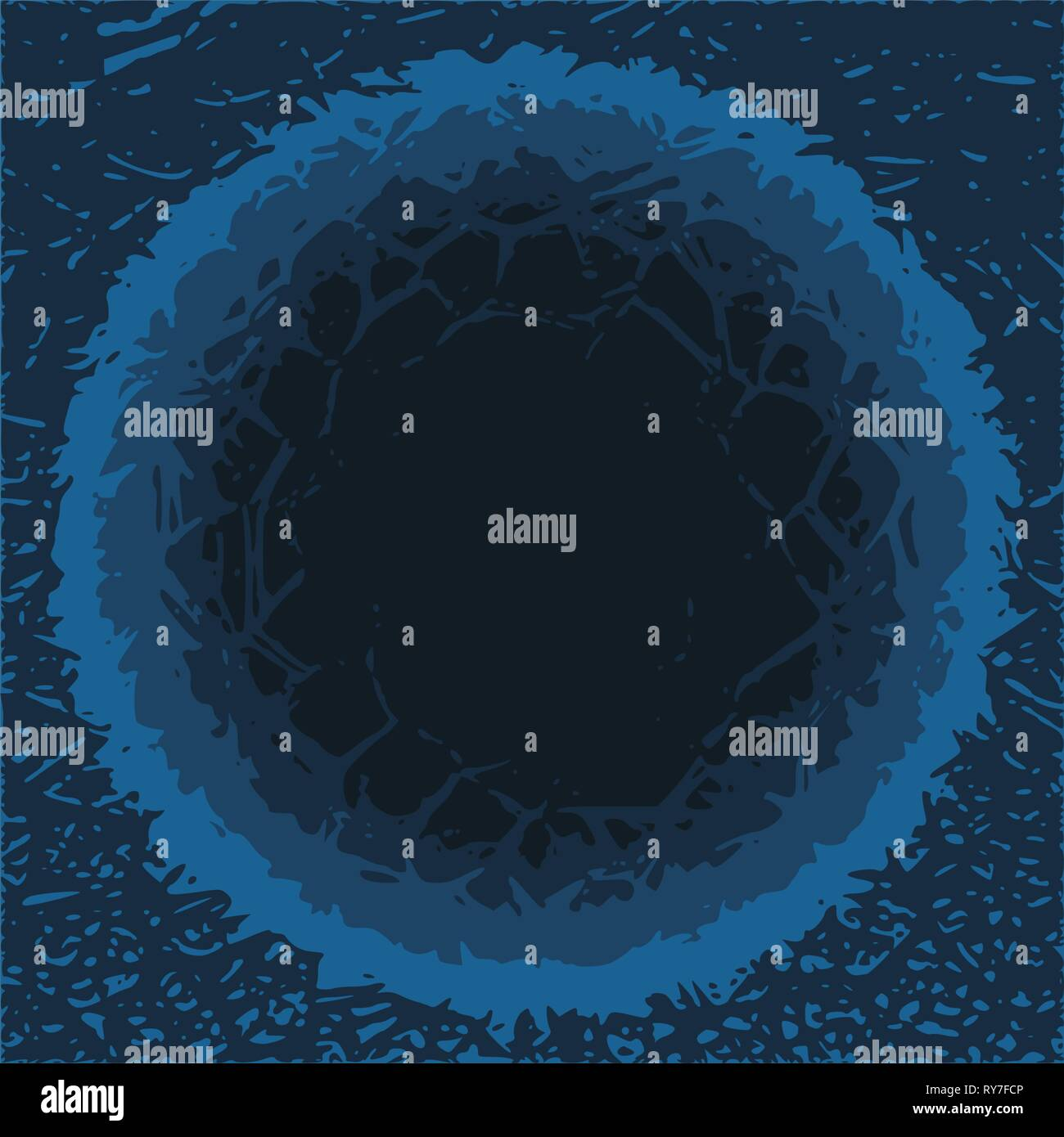 Grunge Cracks Effect Texture. - Stock Vector