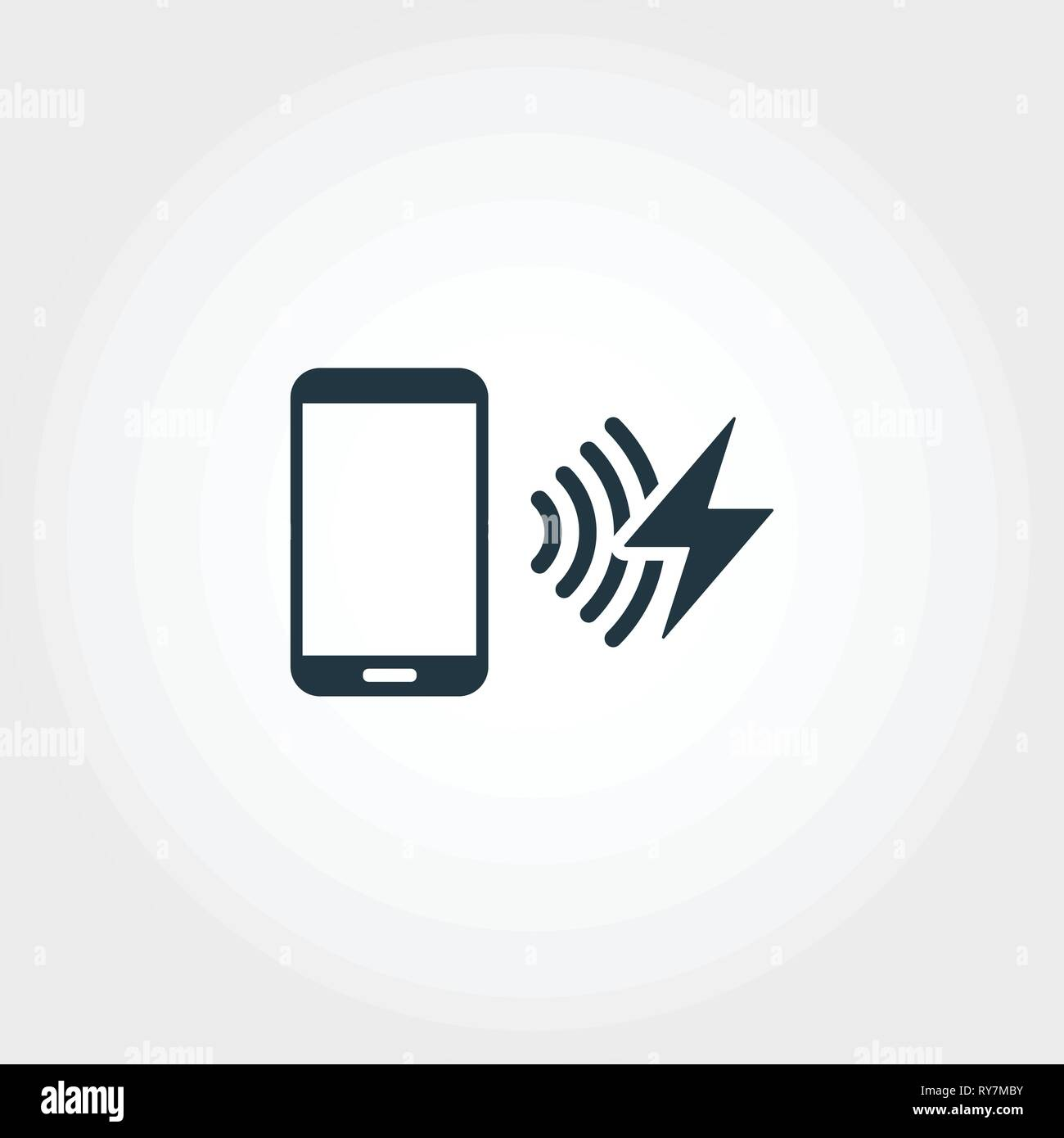Recharge Network creative icon. Monochrome style design from urbanism icons collection. Recharge Network icon for web design, apps, software, print - Stock Vector