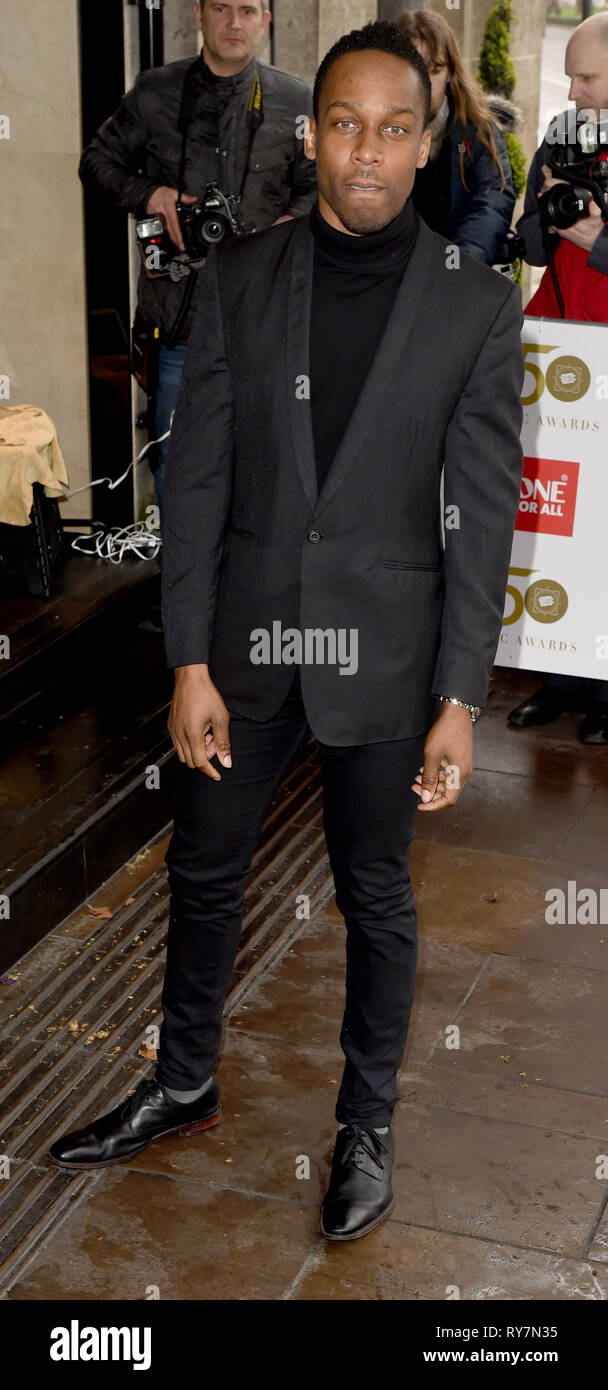 Photo Must Be Credited ©Alpha Press 079965 12/03/2019 Lemar at The Tric Awards 50th Anniversary 2019 held at The Grosvenor House Hotel in London - Stock Image