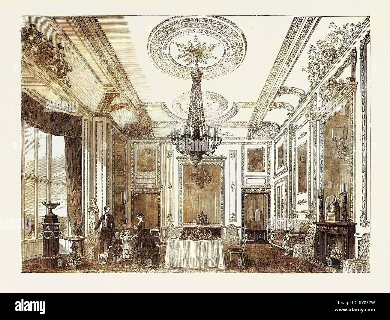 Victorian Drawing Room Home Stock Photos Amp Victorian