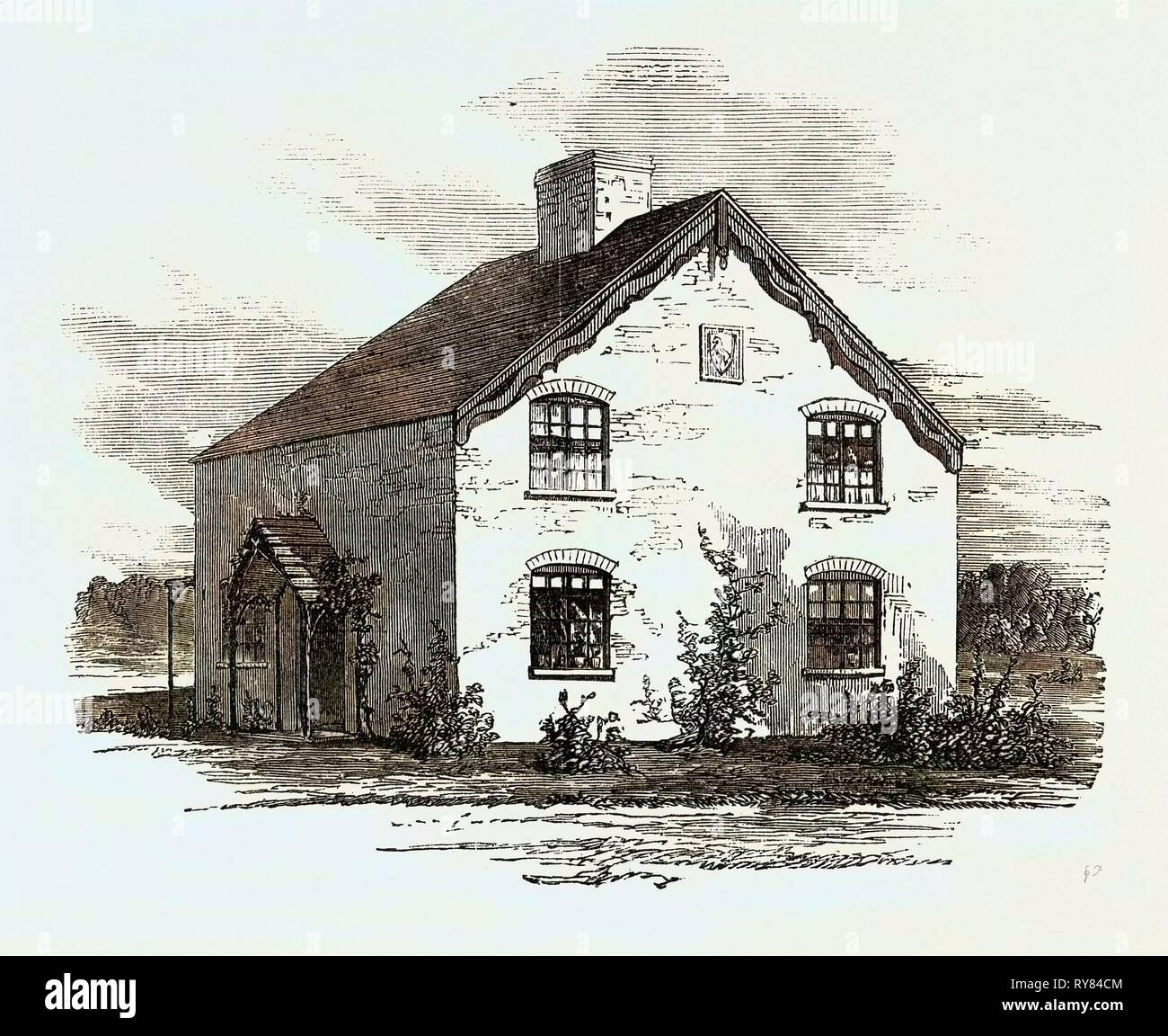 Improved Cottage Dwellings for the Labouring Classes - Stock Image