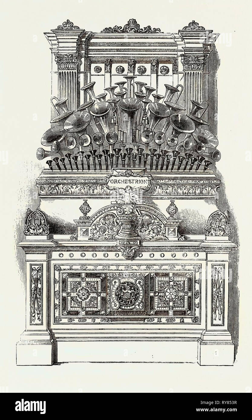 The Orchestrion - Stock Image