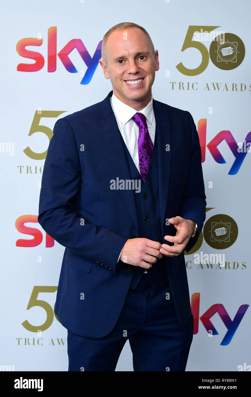 Judge Rinder attending the TRIC Awards 2019 50th Birthday Celebration held at the Grosvenor House Hotel, London. - Stock Image