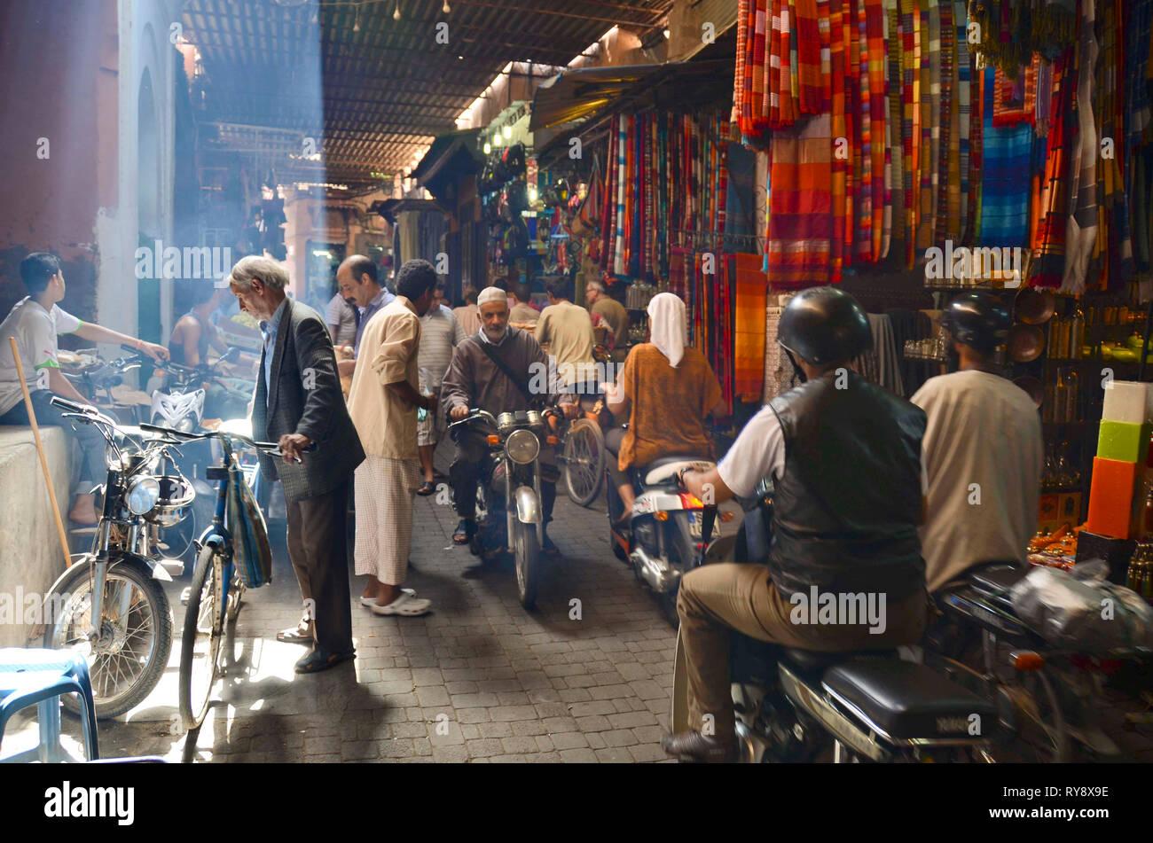Marrakesh medina Stock Photo