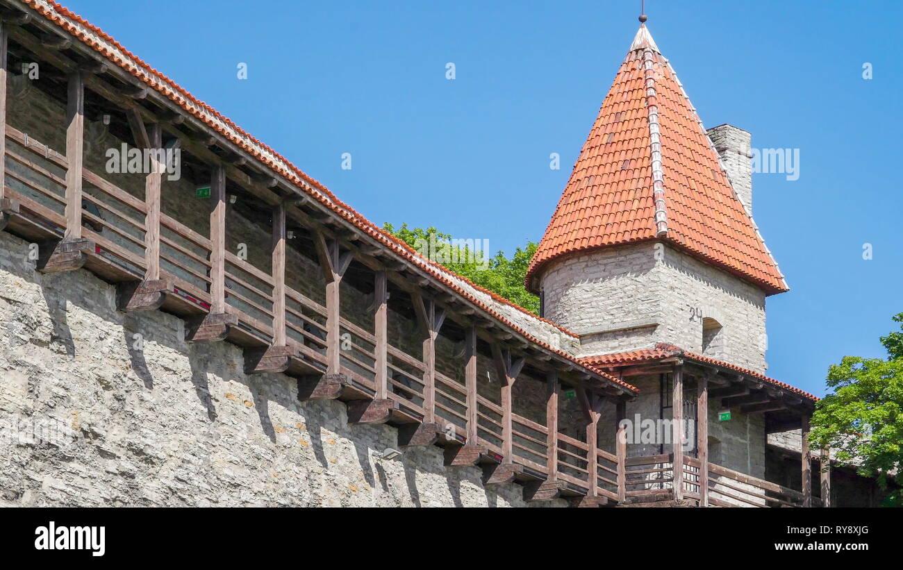 Estonia Tallinn Castle Stock Photos & Estonia Tallinn Castle Stock