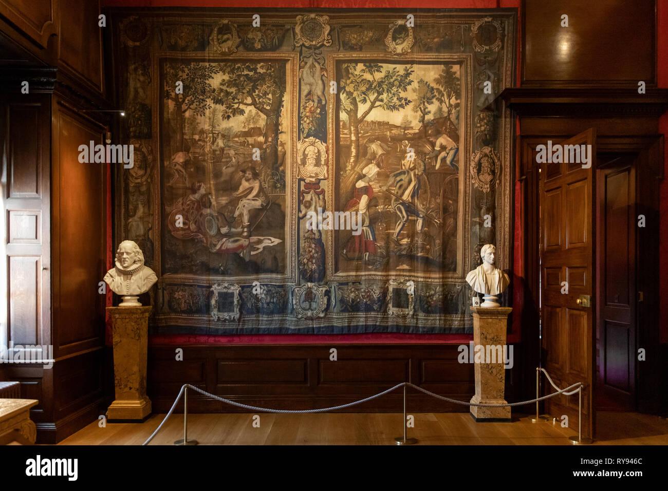 The Privy Chamber, Kensington Palace, London, Uk - Stock Image