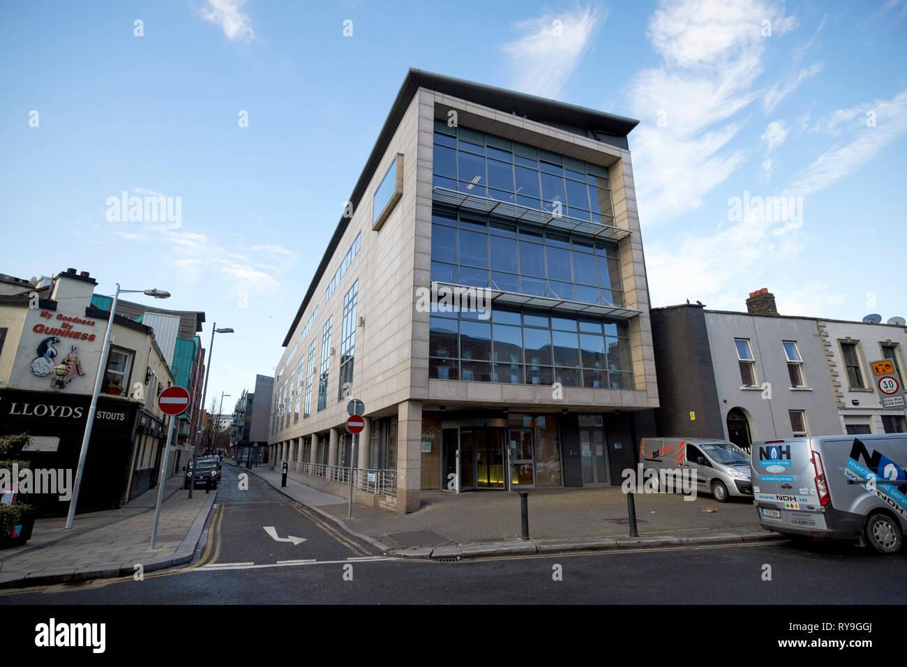 Ervia Bord Gais Energy Irish water building on Foley street Dublin Republic of Ireland Europe - Stock Image