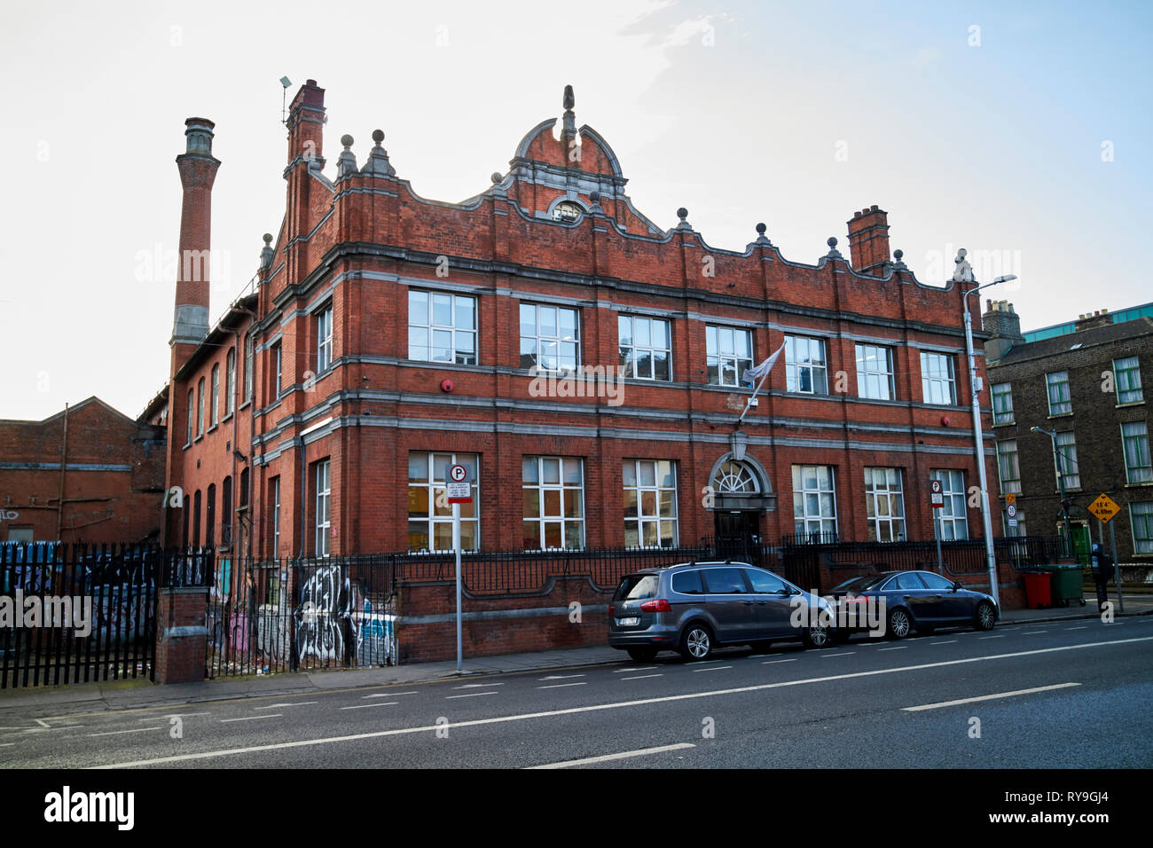 102-103 amiens street former post office now hq of tech startup pointy Dublin Republic of Ireland Europe - Stock Image