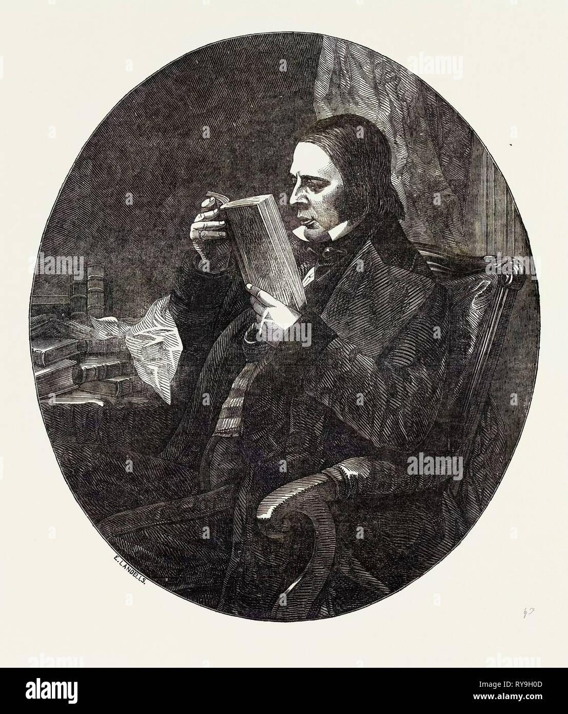 The Late Sir William Molesworth, Bart., M.P - Stock Image