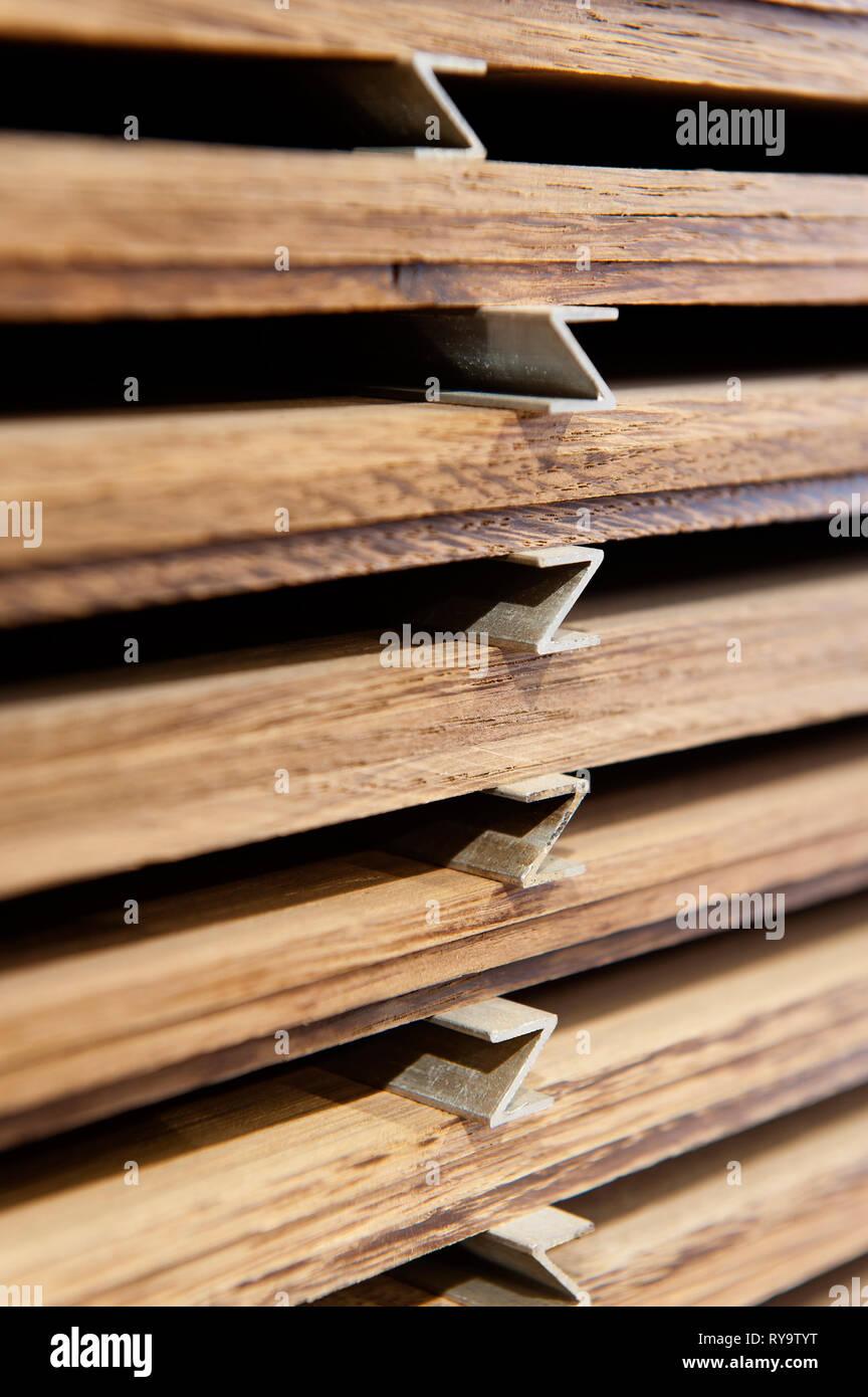 Stack of lumber - Stock Image