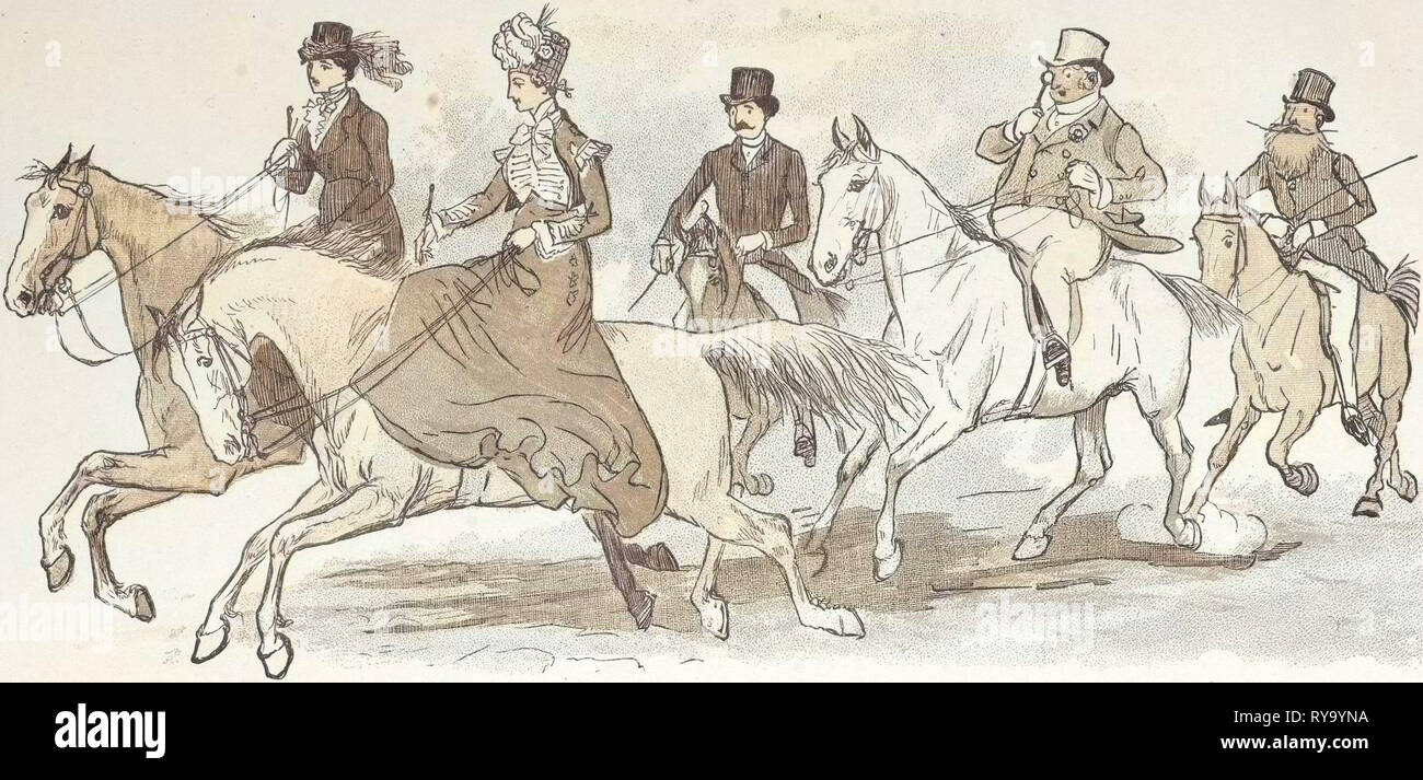 Horseriding - Stock Image