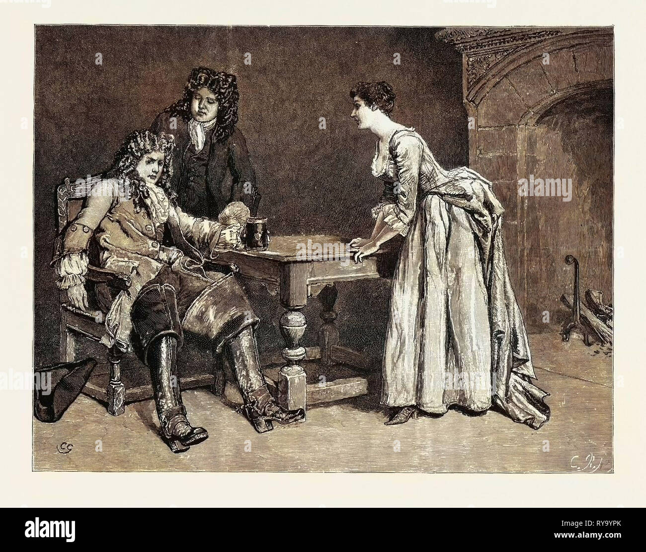 Dorothy Forster: He Drained About a Quart of Ale and Then Set Down the Mug with a Sigh - Stock Image