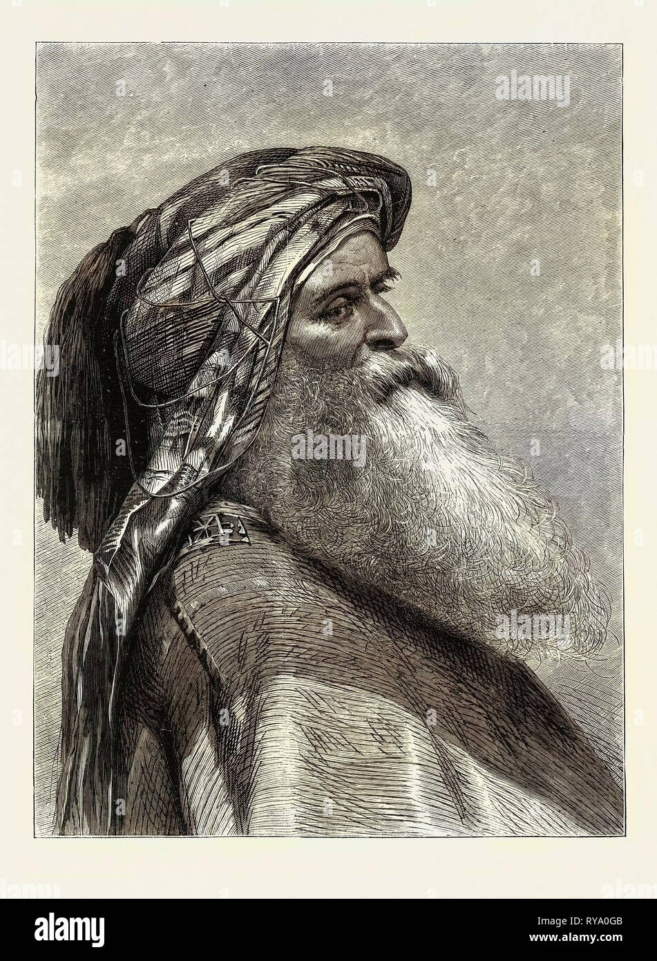 The Sheikh - Stock Image