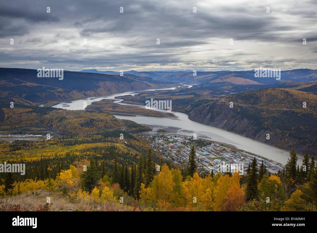 Dawson City, Klondike Region, Yukon Territory, Canada - Stock Image