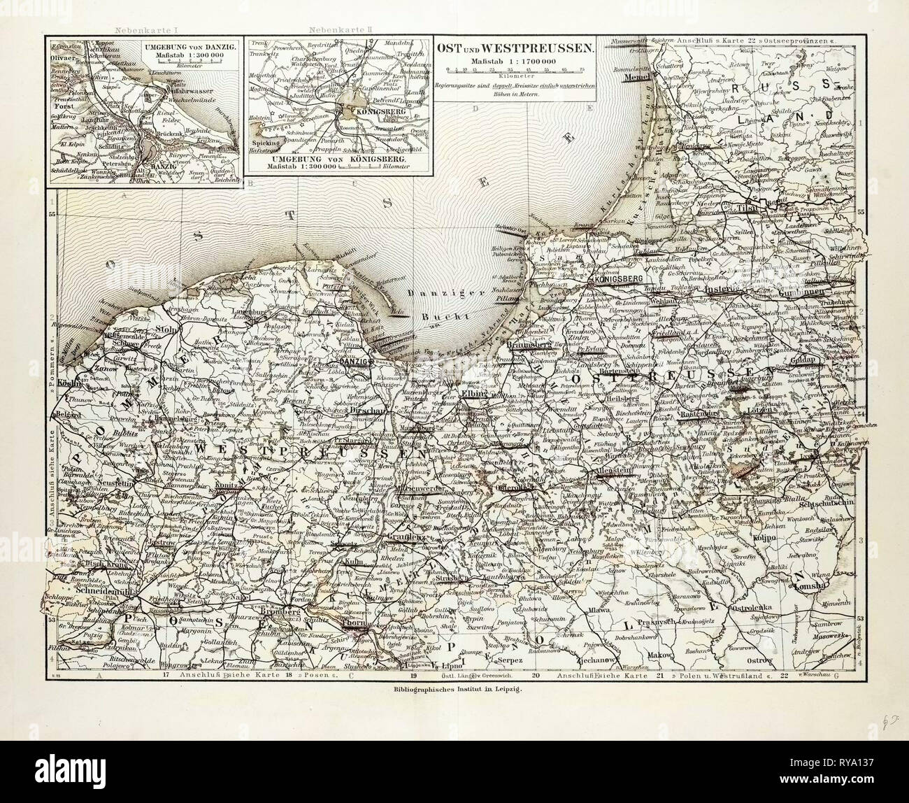 Königsberg Kaliningrad Karte.Konigsberg Map Stock Photos Konigsberg Map Stock Images Alamy