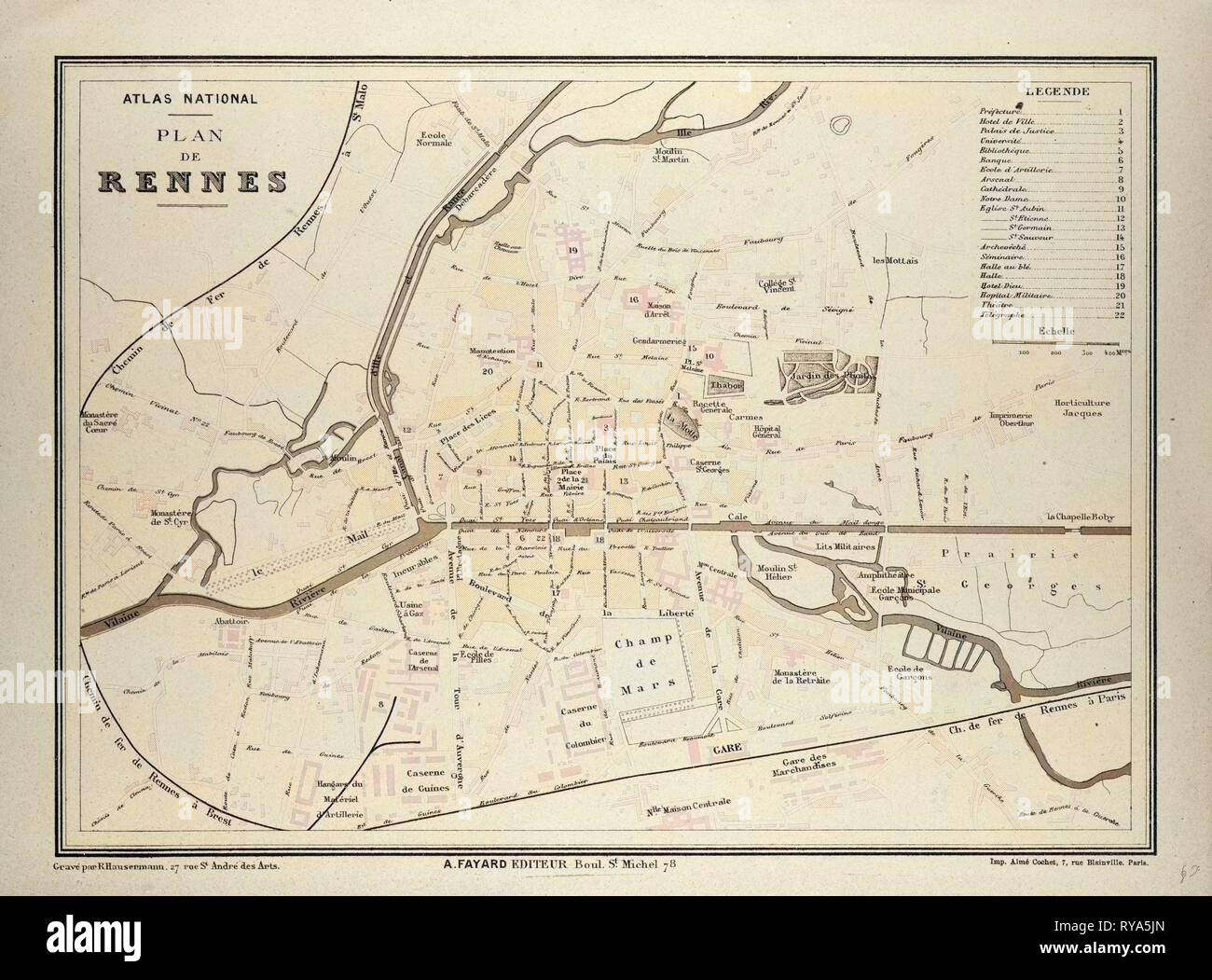 Rennes Map Of France.Map Rennes France Stock Photos Map Rennes France Stock Images Alamy