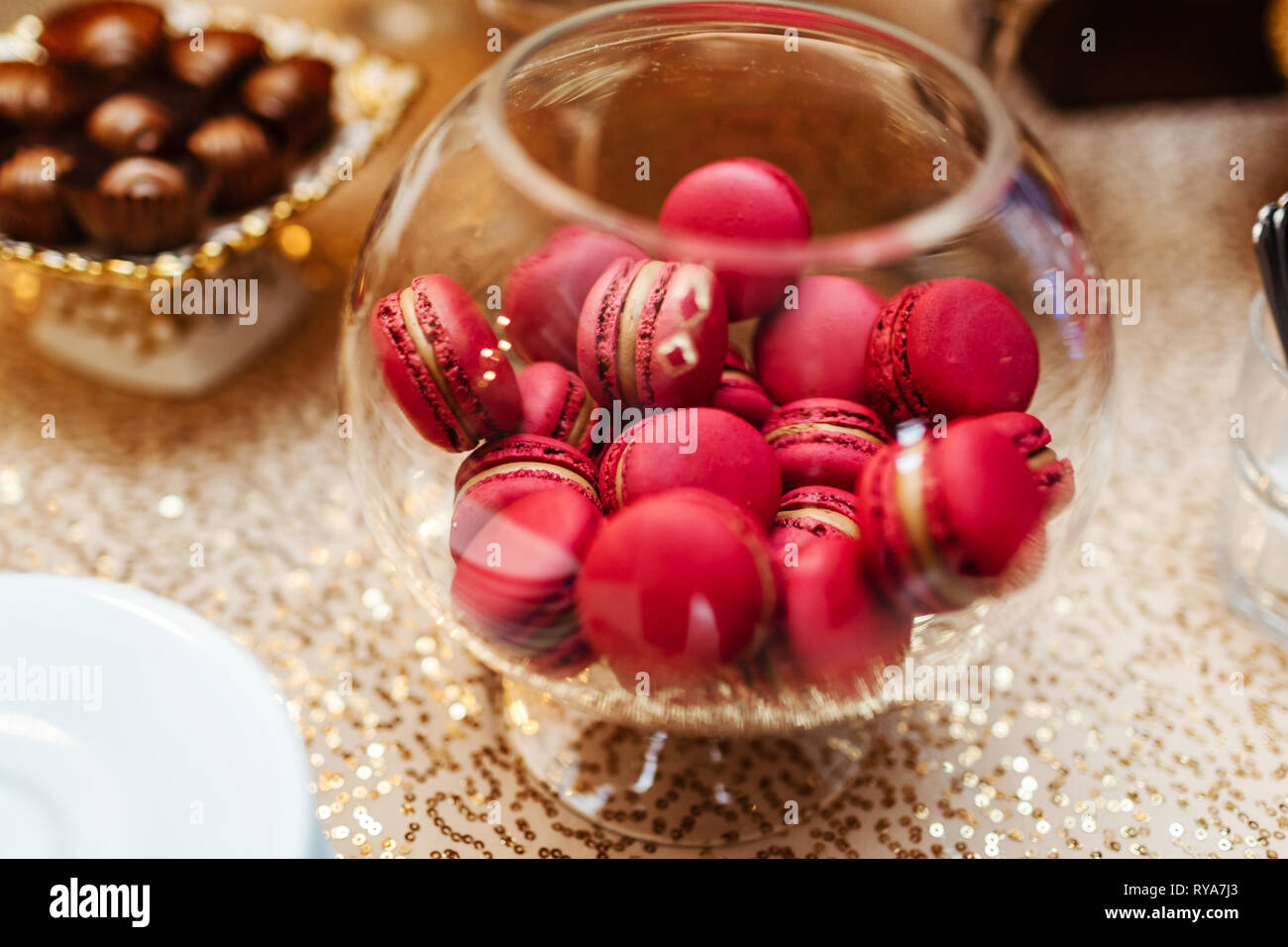 Swell Colorful Macarons Stand In Round Transparent Weight As Part Complete Home Design Collection Epsylindsey Bellcom
