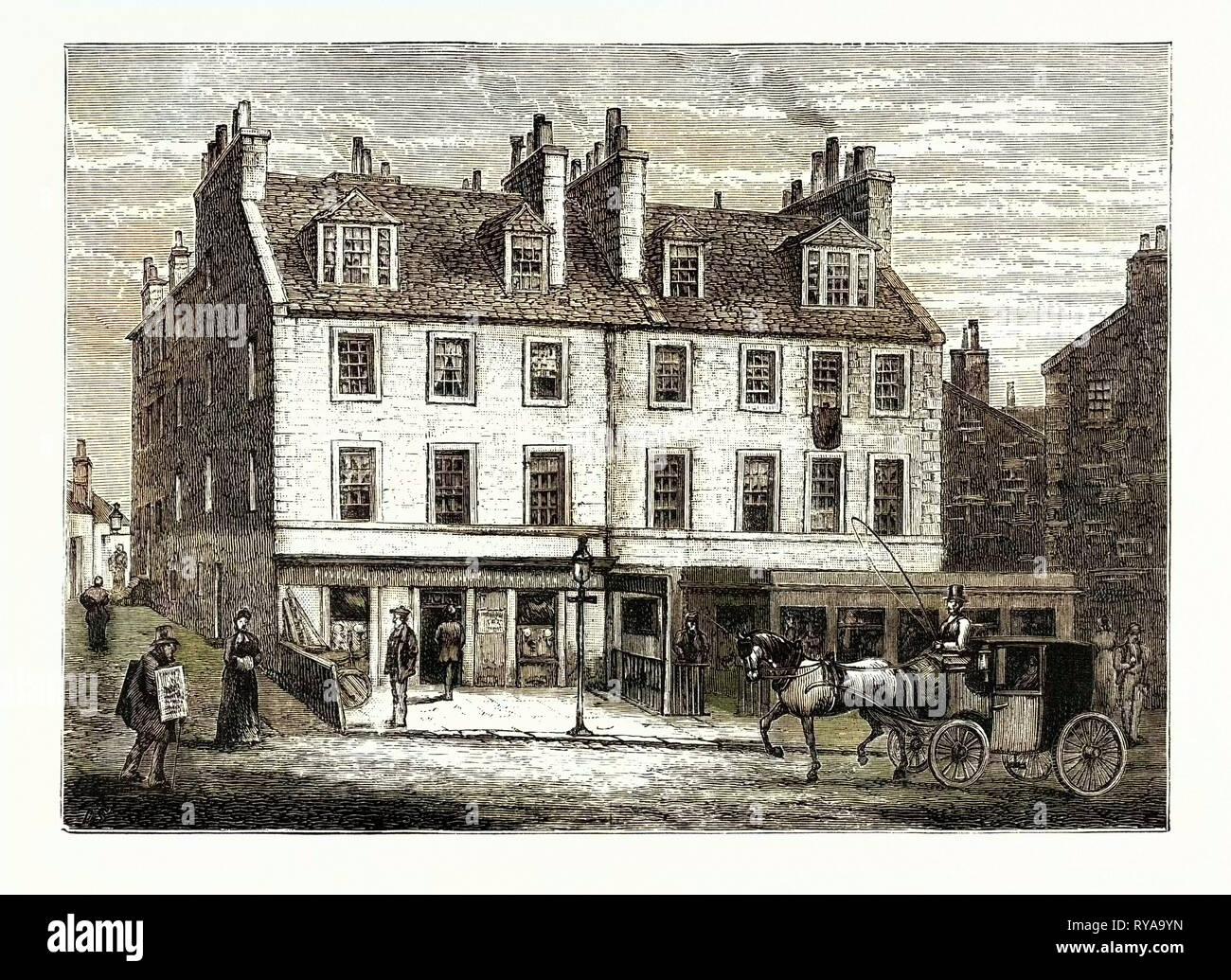Edinburgh: Halfway House Leith Walk - Stock Image