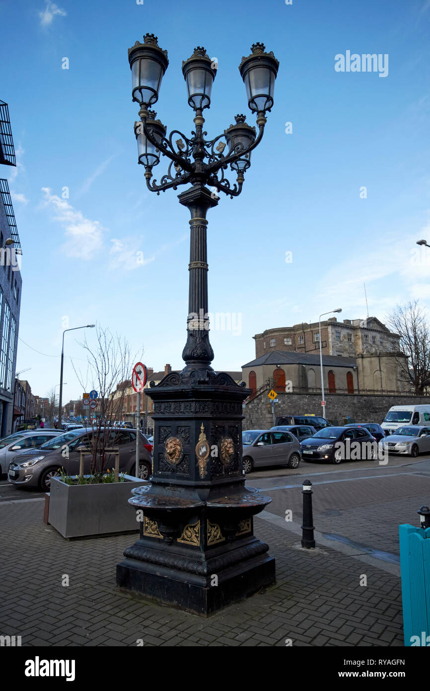 The five lamps amiens street Dublin Republic of Ireland Europe - Stock Image