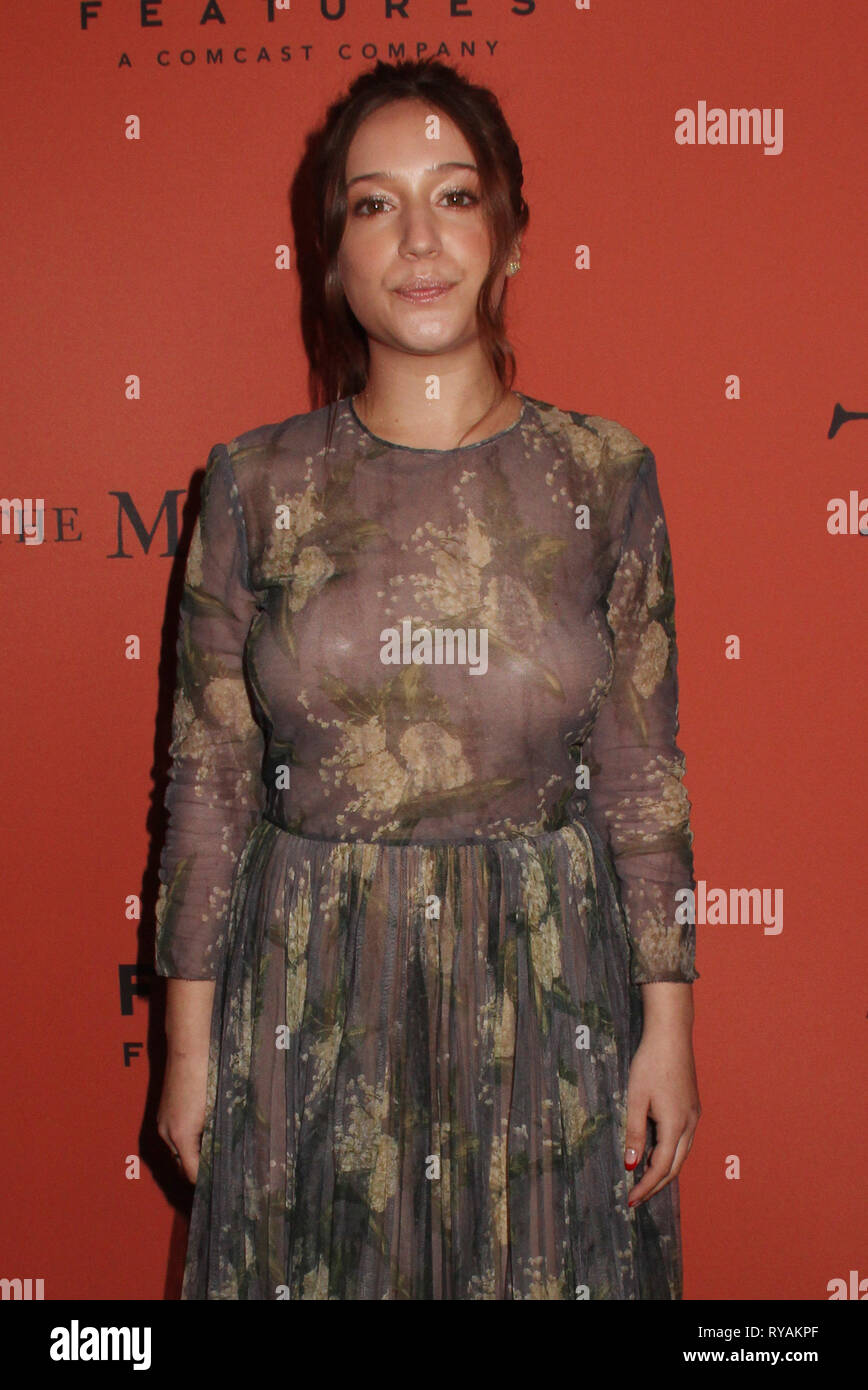 Los Angeles, USA. 12th Mar 2019. Gideon Adlon 03/12/2019 The Special Screening of 'The Mustang' held at The ArcLight Hollywood in Los Angeles, CA Photo by Izumi Hasegawa/HollywoodNewsWire.co Credit: Hollywood News Wire Inc./Alamy Live News - Stock Image