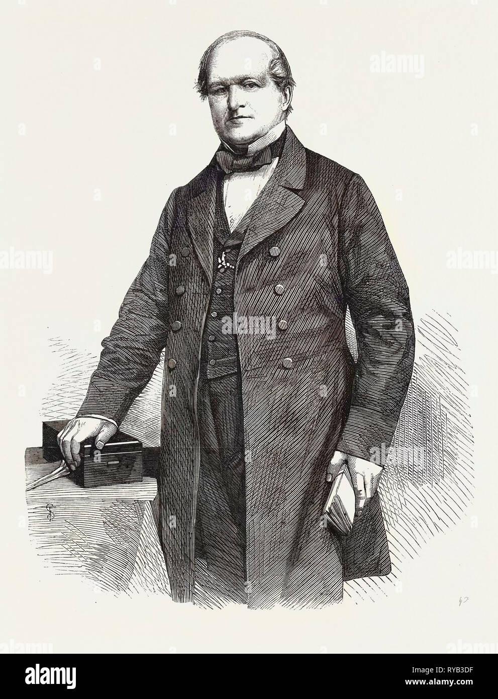The Right Hon Sir W.G. Hayter Bart. M.P - Stock Image