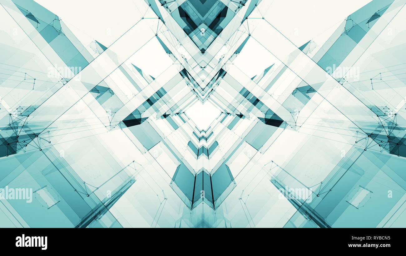 Abstract background futuristic concept space technology Stock Photo