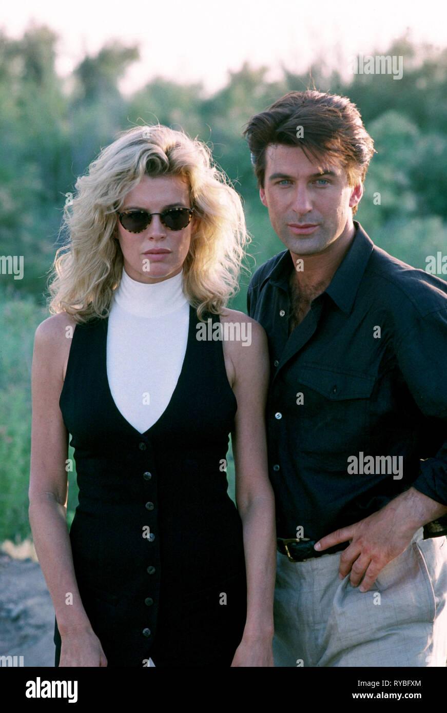 KIM BASINGER,ALEC BALDWIN, THE GETAWAY, 1994 - Stock Image