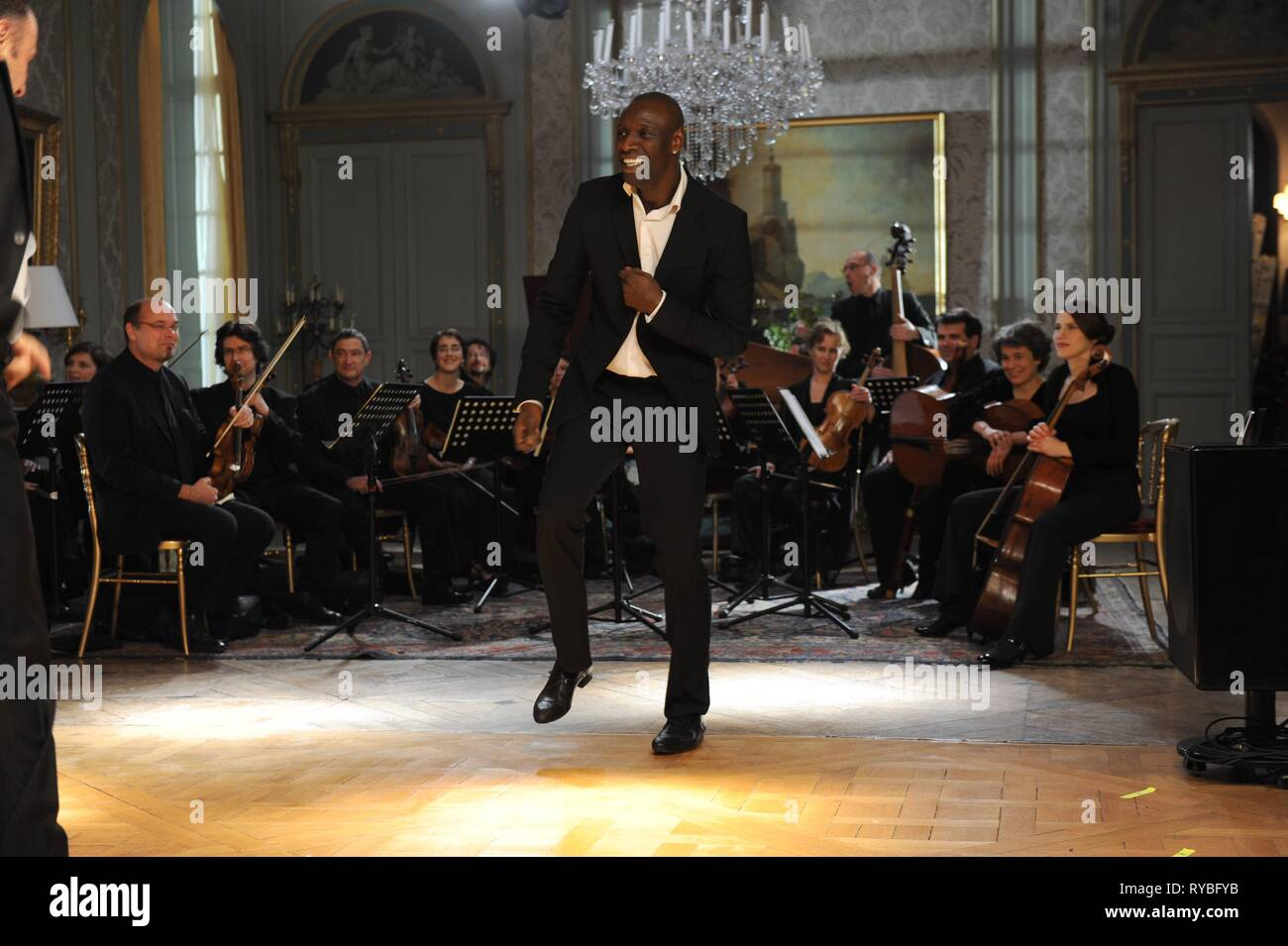 OMAR SY, INTOUCHABLES, 2011 - Stock Image