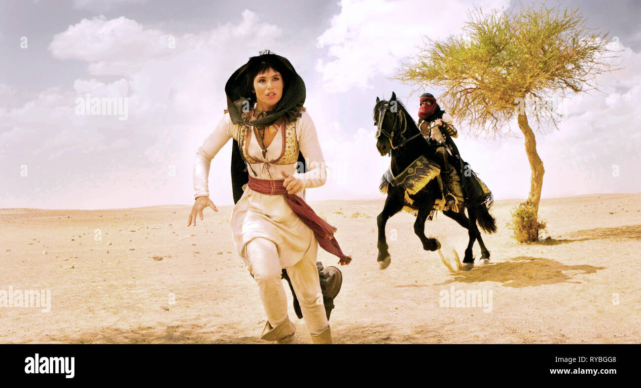 Gemma Arterton Prince Of Persia The Sands Of Time 2010 Stock Photo Alamy