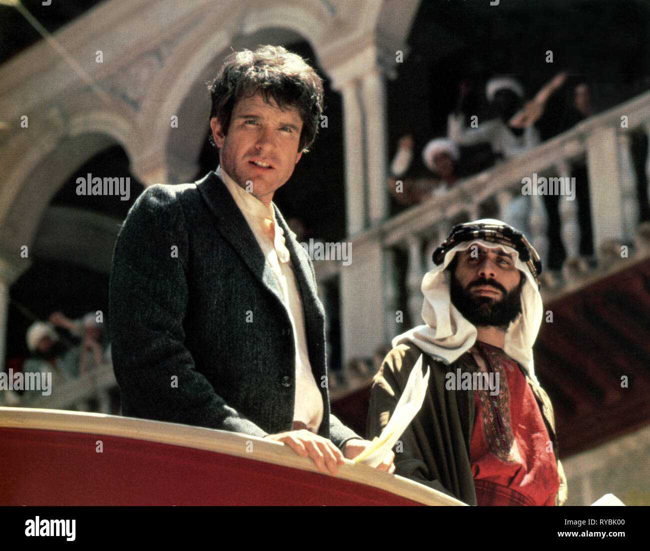 WARREN BEATTY, REDS, 1981 - Stock Image