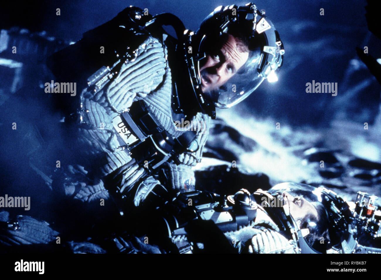 BRUCE WILLIS, ARMAGEDDON, 1998 - Stock Image