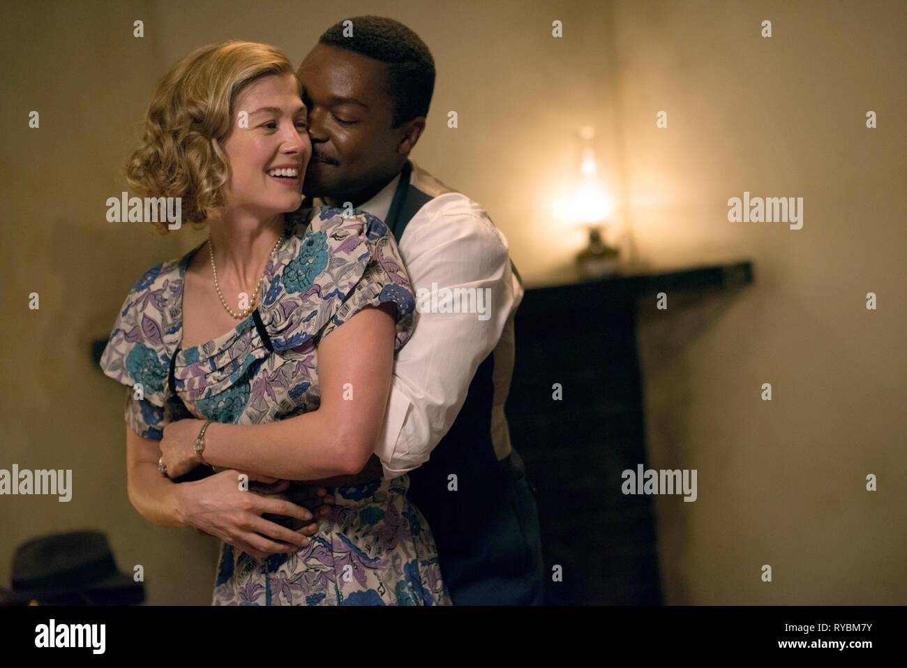 ROSAMUND PIKE, DAVID OYELOWO, A UNITED KINGDOM, 2016 - Stock Image