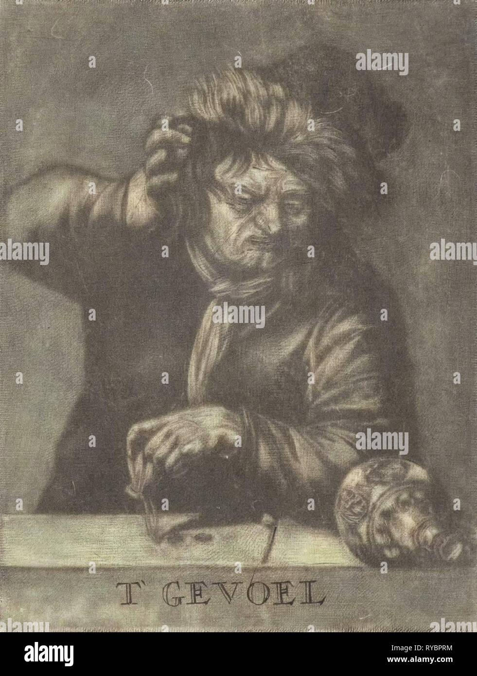 Feeling, Pieter Pickaert, 1680 - 1715 - Stock Image