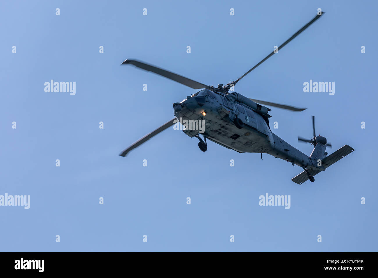 Sea Hawk Helicopter - Stock Image