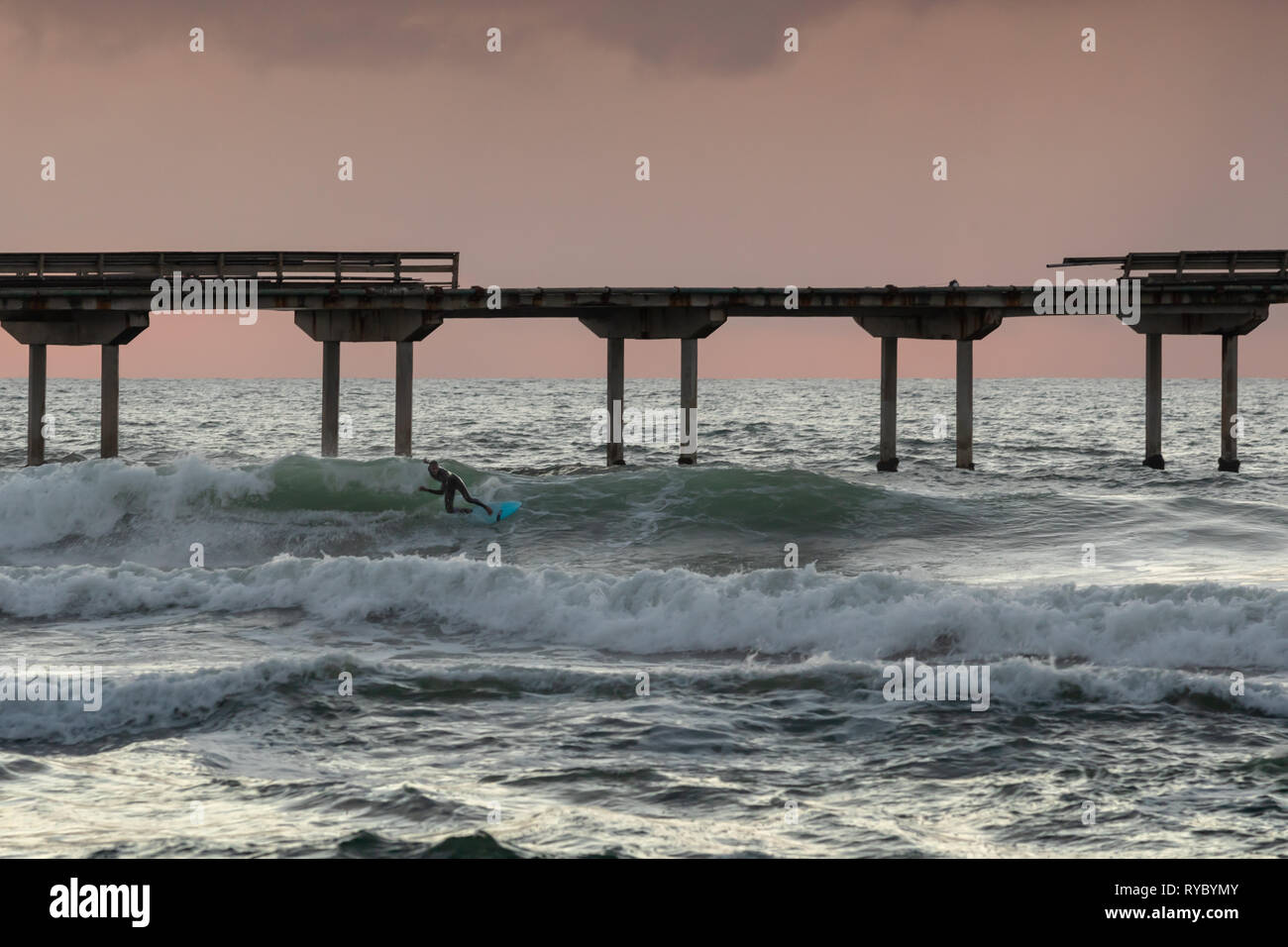 California Surfer san Diego - Stock Image